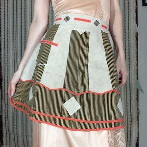 Vintage Accessories - Vintage Harlequin Apron